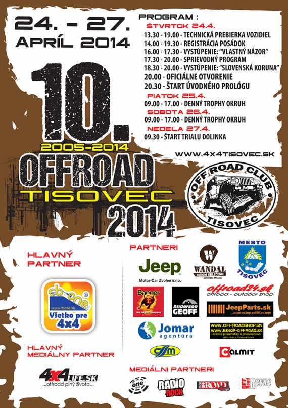 Offroad Tisovec 2014 TISOVEC2014